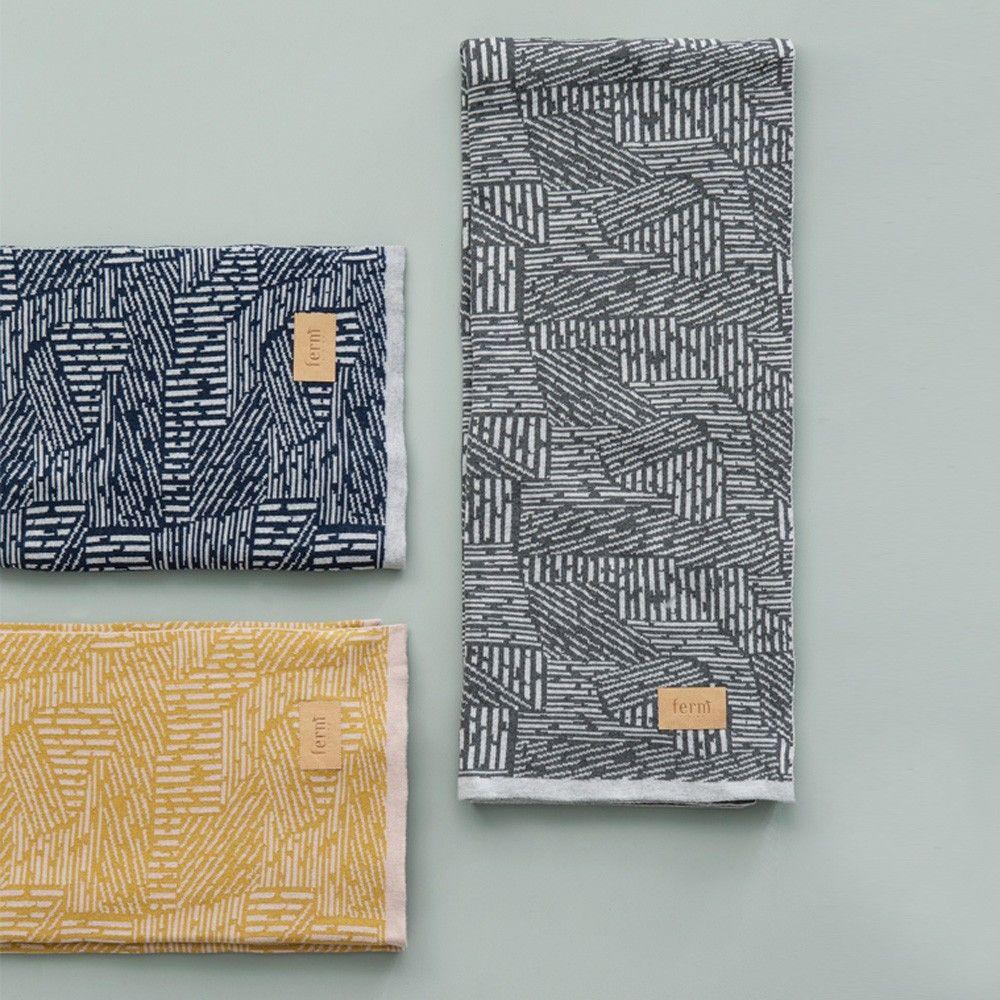 ferm LIVING Maze Blanket | Throws | Decor | Candelabra, Inc.