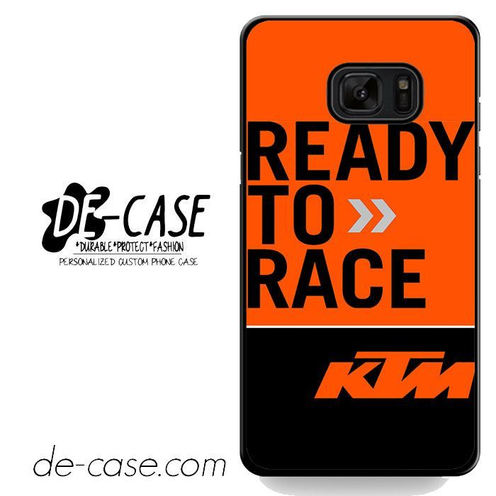 Ktm Ready To Race Deal 6241 Samsung Phonecase Cover For Samsung Galaxy Note 7