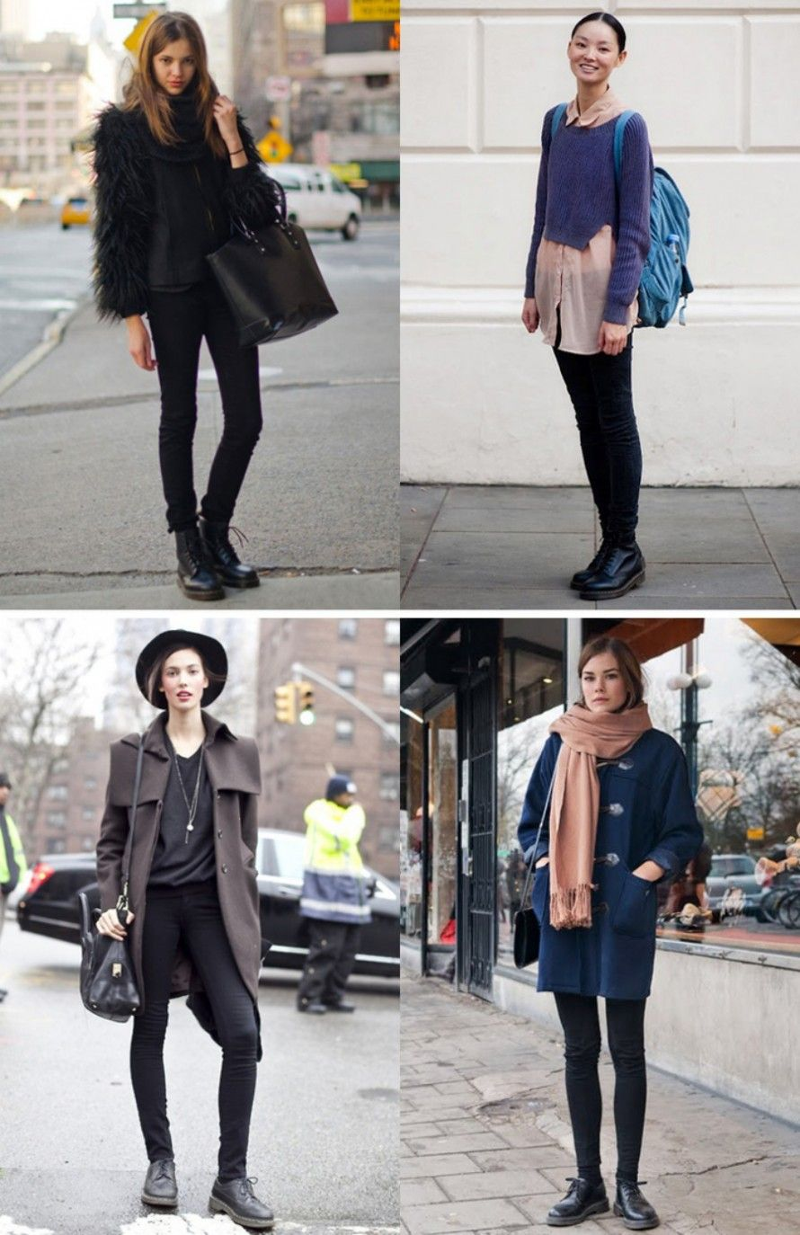 trend dr martens  idee outfit autunno inverno 2014