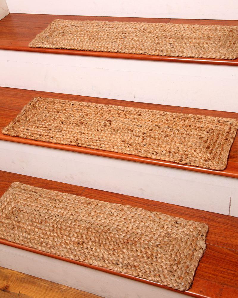Broadway Carpet Stair Tread Set Of 13 Carpet Stair Treads   Carpet Stair Treads Lowes   Staircase   Edging   Oak Stair   Replacement   Rectangular Cord Treads
