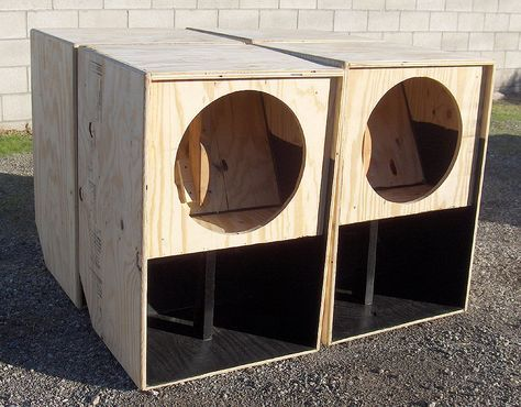 18 inch Bass Woofer Subwoofer Speaker Cabinet Box | Cabinets in 2019