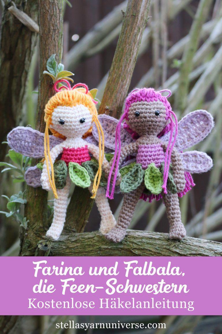 Photo of Häkele eine kleine Fee – Kostenlose Anleitung – Stella's Yarn Universe