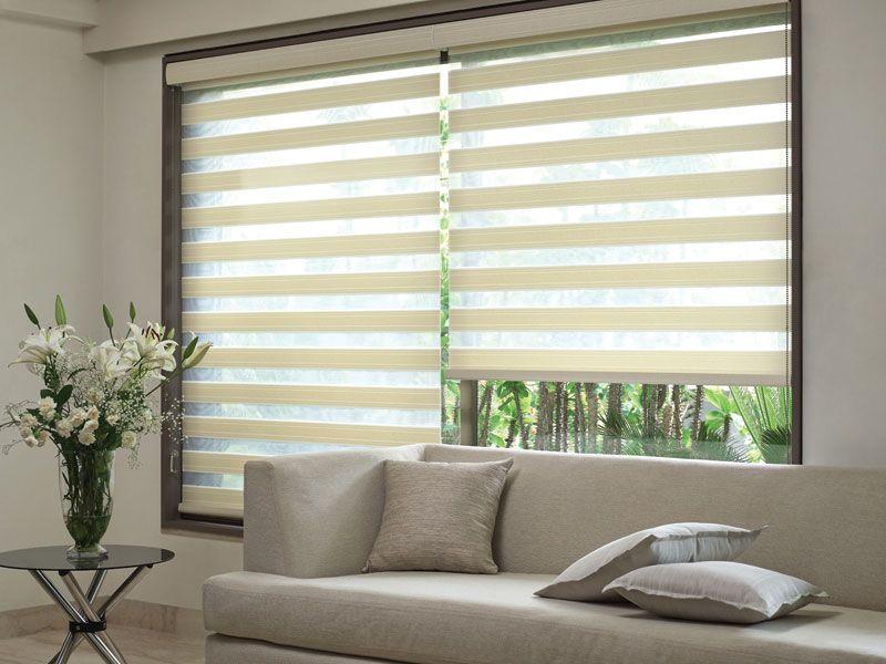 Duplex Blinds Modern Cozy Living Room Blinds Living Room Modern