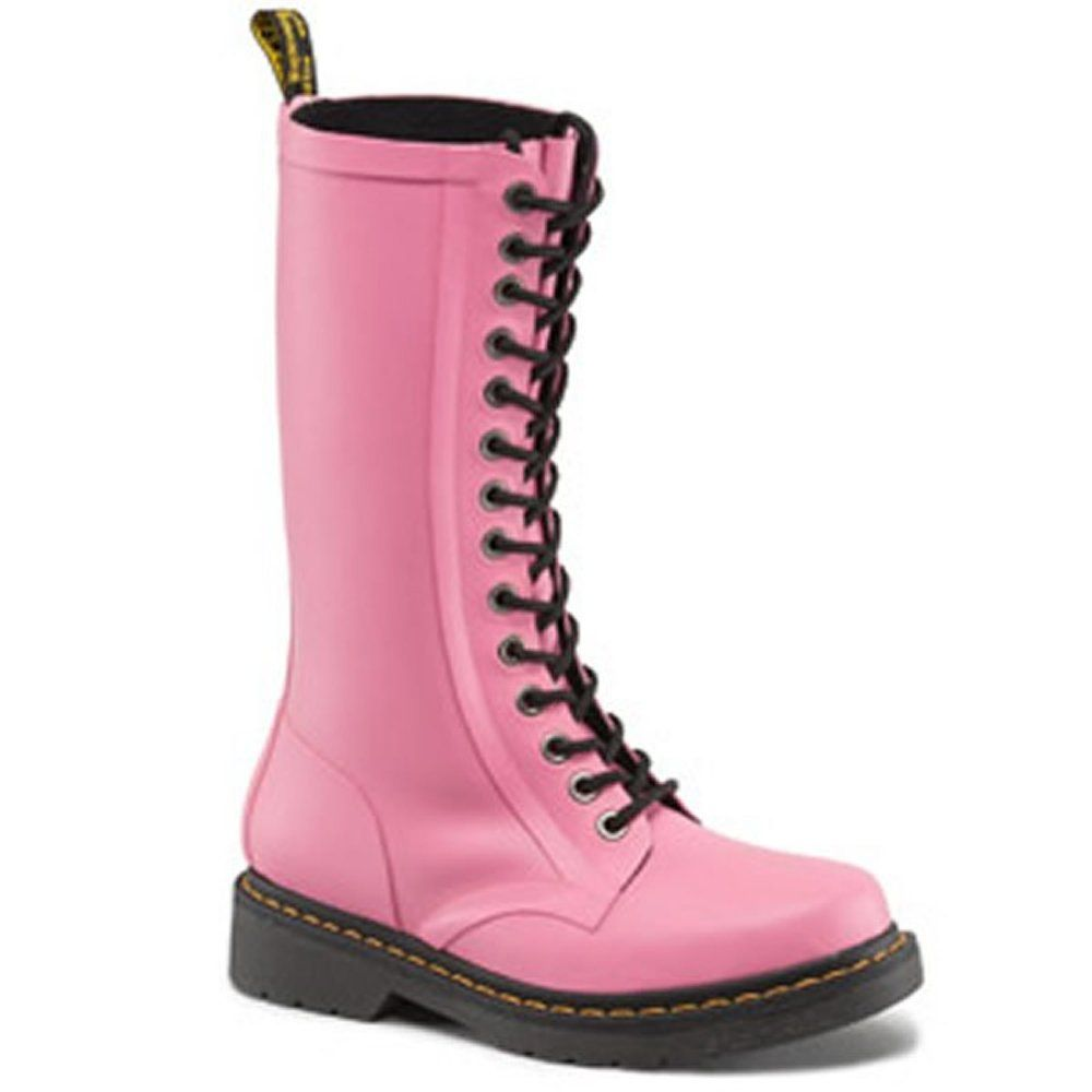 dr martens womens pink shower wellies ebay boots and. Black Bedroom Furniture Sets. Home Design Ideas