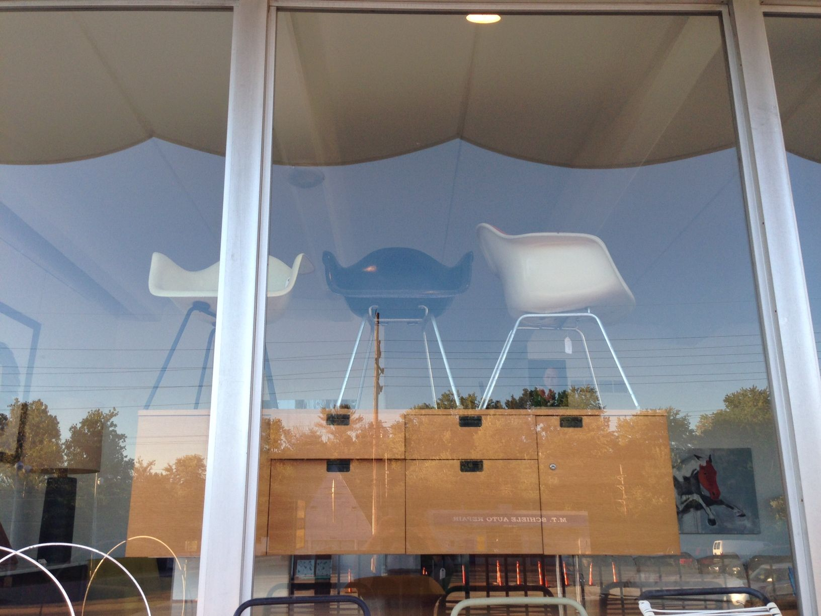 Glass Storefronts Allow Potential Customers And Returning