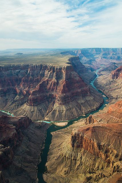 Colorado River and Little Colorado River photo from Helicopter