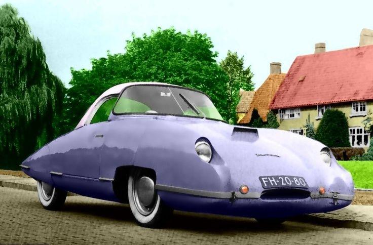 Panhard Paturi Panthere 610cc 1955 Weird Cars Classic Cars