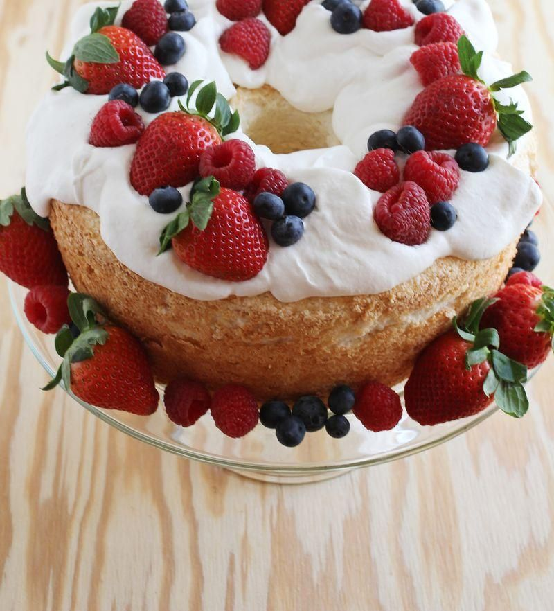Best angel food cake Foooooood Pinterest Angel food cakes