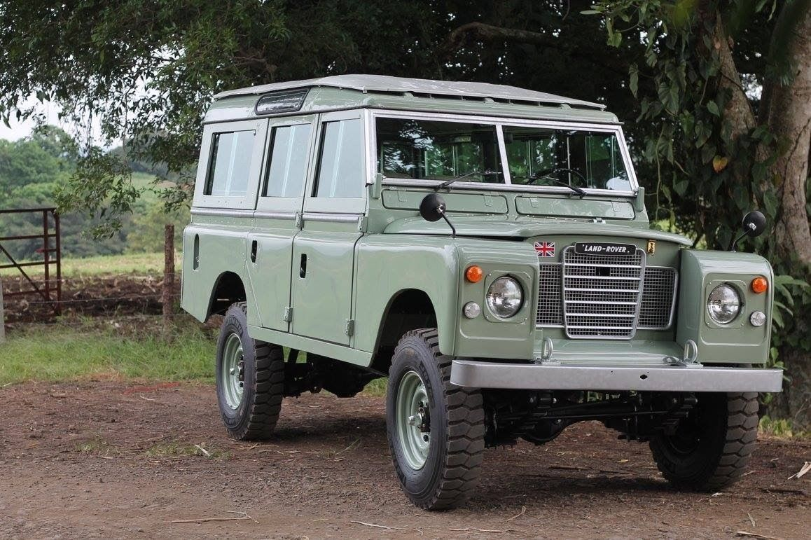 Land Rover Defender Safari 109 Ebay Jipe