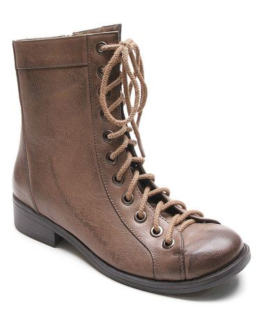 This Taupe Joise Boot is perfect! #zulilyfinds