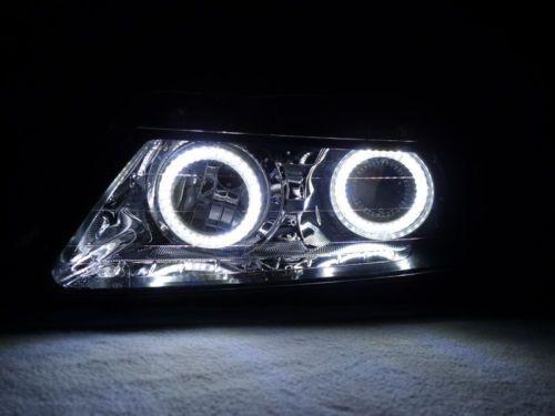 ERROR FREE X White LED Angel Eye Halo Ring Kit For Acura - Acura tl halo headlights