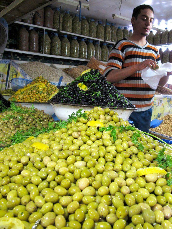 Exploring the local market in Taroudant Morocco