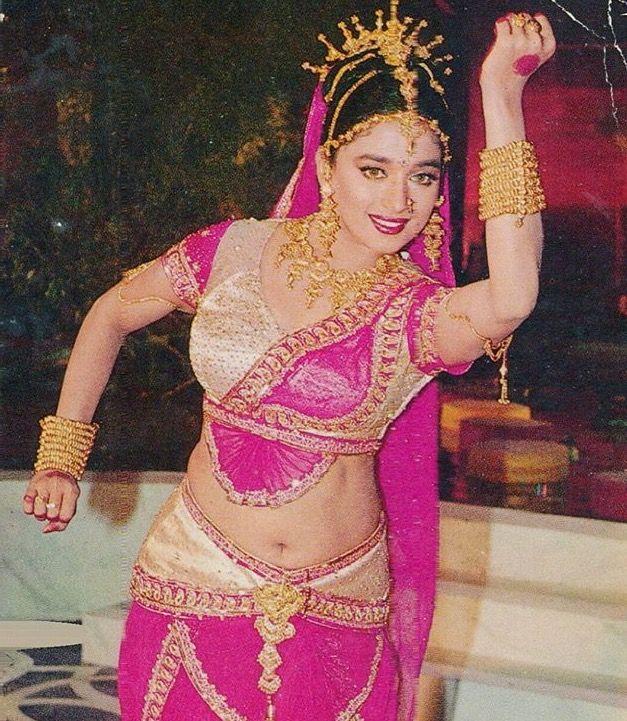 Long Madhuri dixit hot simply does