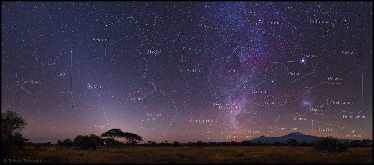 """A Starry Night of Kilimanjaro"" by Babak A. Tafreshi (TWAN)"