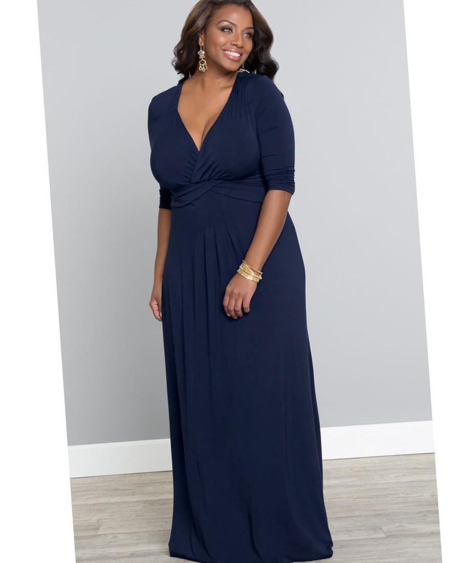 Emejing Navy Maxi Dress Plus Size Photos - Mikejaninesmith.us ...