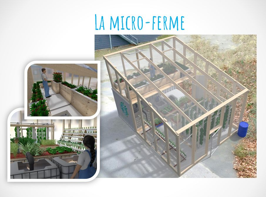 L\'AU en France – Maison de l\'Agriculture Urbaine | Jardin | Pinterest