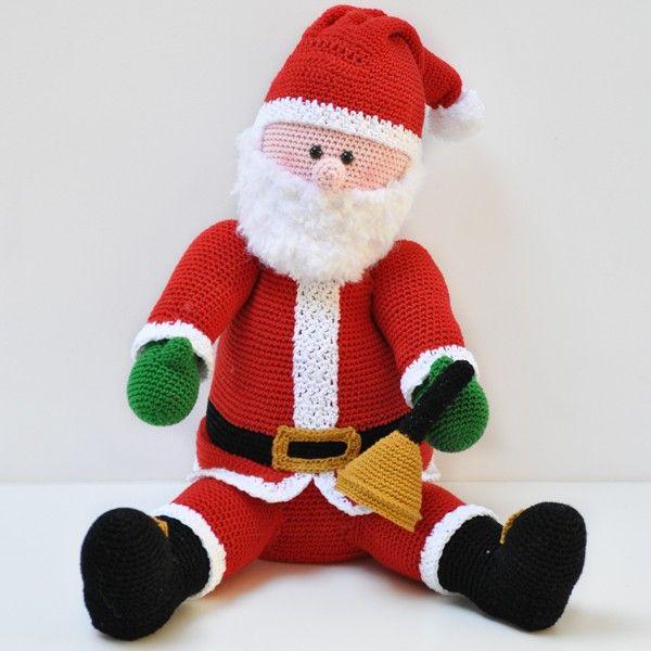Kerstman Haakpakket Pinterest Kerstman Natuurlijk En Feestdagen