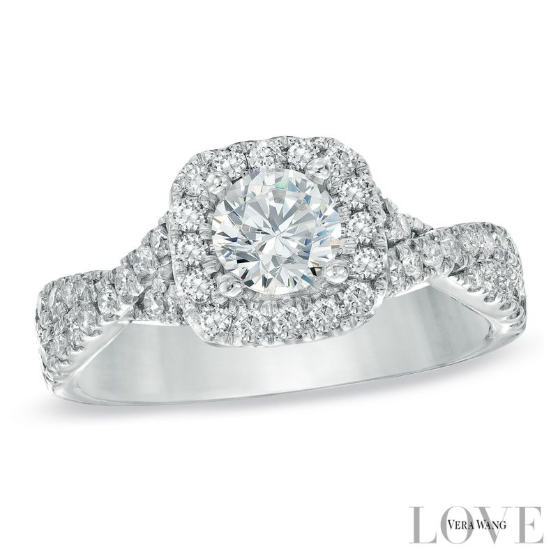 Zales Larger Image Diamond Engagement Rings Halo