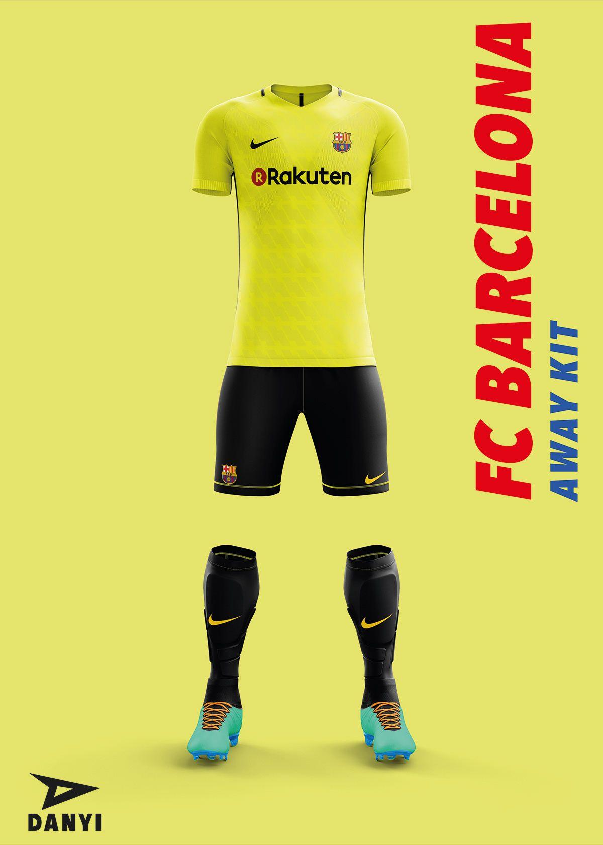 bd0bb54b36d FC Barcelona Football Kit 19 20. on Behance