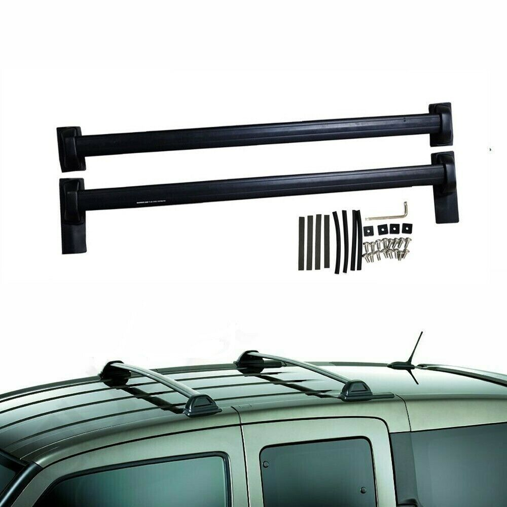 1pair Roof Rack Cross Bars For 03 04 05 06 07 08 09 10 11 Honda Element Black Ebay Honda Element Roof Rack Honda