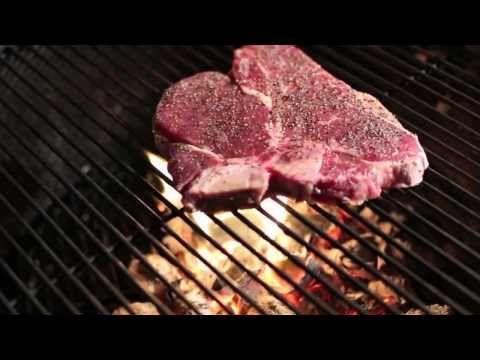 c7c24cb553a1 T-Bone Steaks on the Weber Grill - YouTube