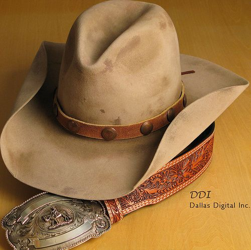 5aaa50998eb004 Now, that's a cowboy hat! One of a kind Stetson Cowboy Hat purchased from  Kemo Sabe in Aspen, Colorado by MWButterfly & posted via Flickr