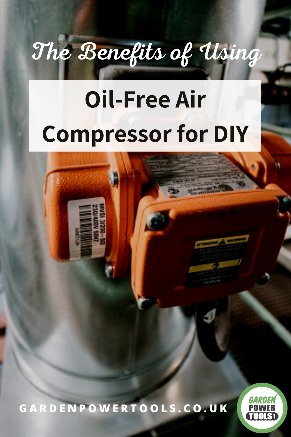 The Benefits of Using an OilFree Air Compressor for DIY