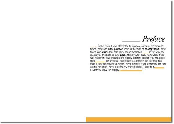 preface example