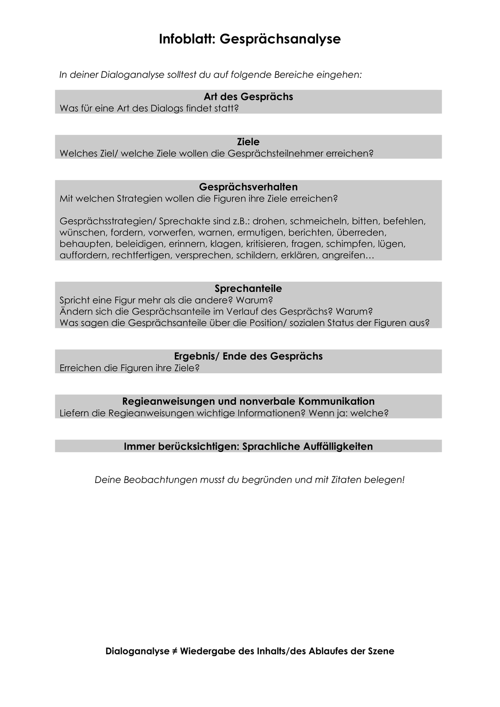 Dialoganalyse Die Physiker Von Friedrich 4