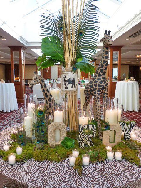 Nj wedding event decor parker 39 s petals flowers events gifts cultural wedding ideas in - Deco table jungle ...