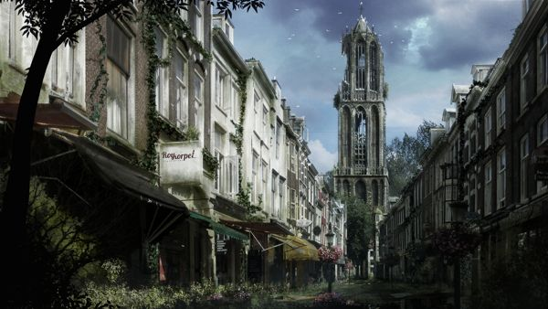 Abandoned City Time Lapse Video Utrecht By Roy Korpel Via Behance City Wallpaper Abandoned Cities Watercolor Wallpaper Iphone