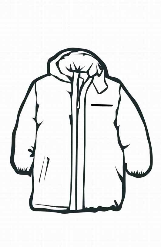 Winter Coloring Pictures Of Clothes To Wear Animations A 2 Z Coloring Pages Of Winter Clothing Winter Coat Coloring Pages Winter Coloring Pages