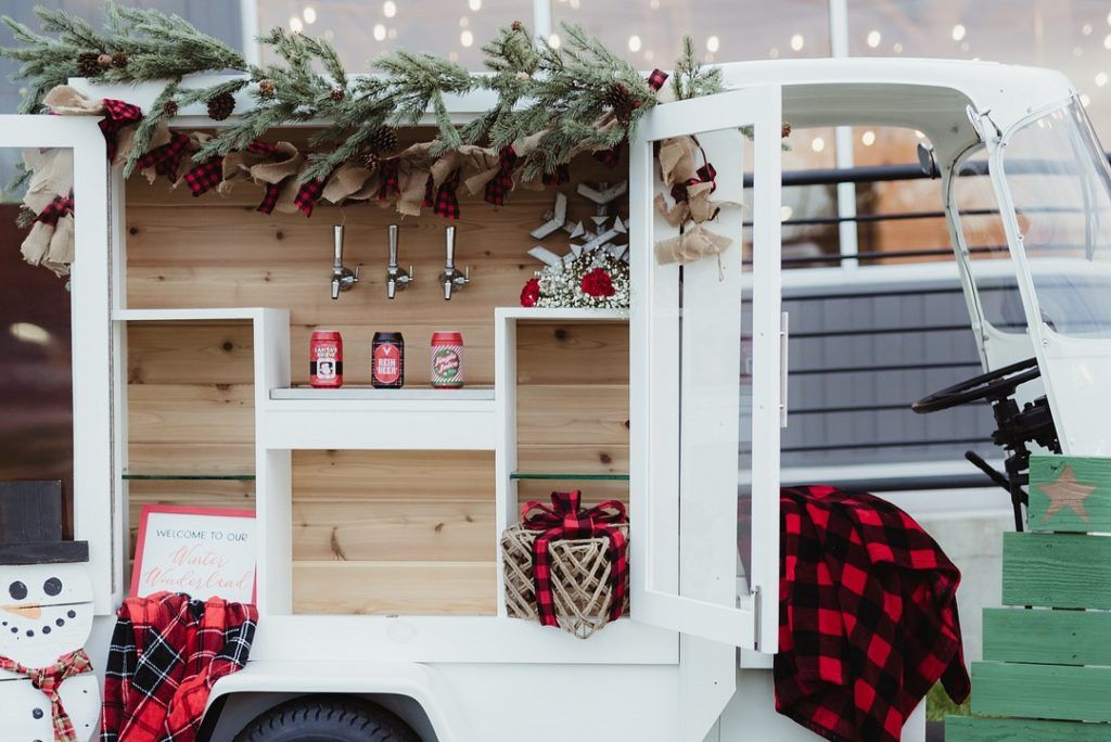 Nashville Holiday Wedding Inspiration Food Truck
