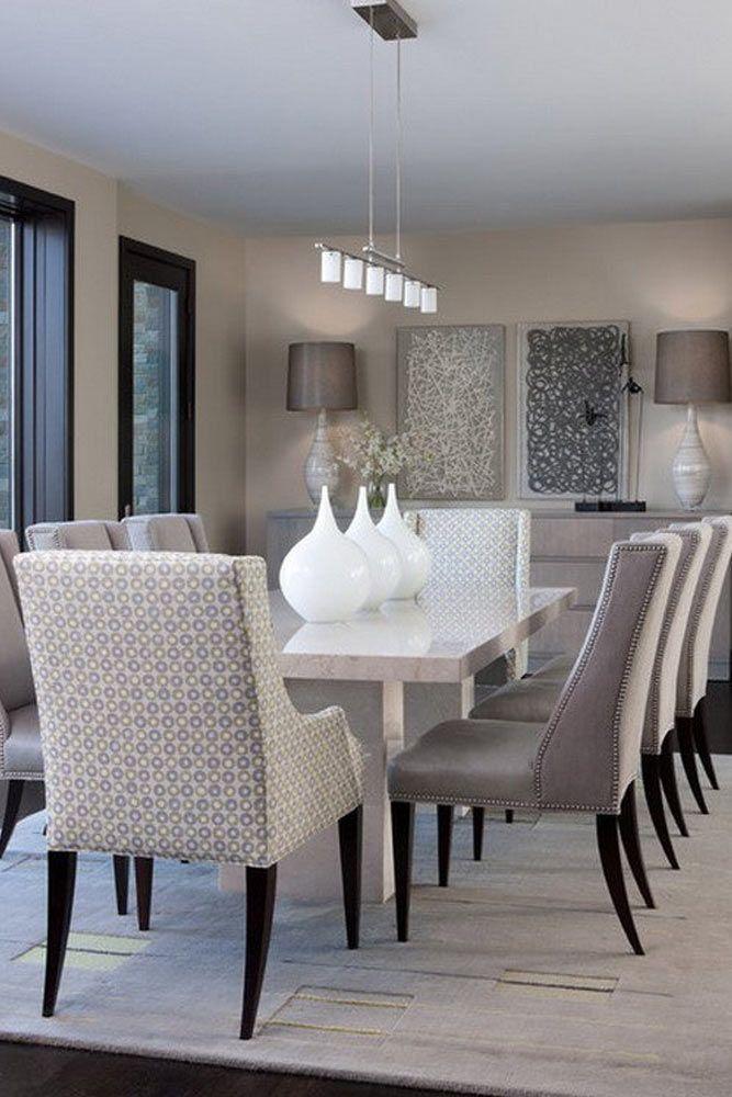 Exceptional Dining Room Designs For Each Taste Glaminati Com Contemporary Dining Room Sets Dining Room Cozy Home Decor