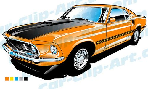 1969 ford mustang mach 1 vector clip art clip art ford mustang rh pinterest co uk model t clip art silhouette model t clip art silhouette