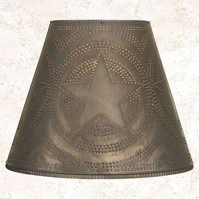 "For Justin's ""hunting/fishing/office"" lamp shade?"