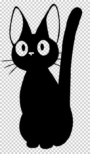 Jiji Kiki S Delivery Service Vinyl Car Decal Studio Ghibli Characters Cartoon Styles Kiki Cat