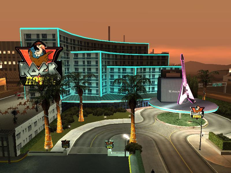 V-ROCK hotel gta san andreas ile ilgili görsel sonucu