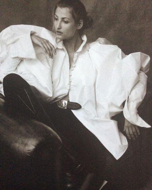 lbert Watson #photograph per un #thegreatwhitehope #fashioneditorial nel numero di agosto 1993 # questione della British Vogue