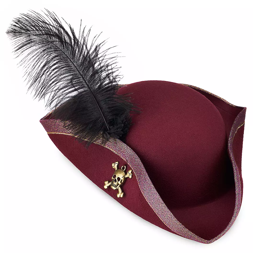 Redd Pirate Hat For Adults Pirates Of The Caribbean Shopdisney In 2021 Pirate Hats Pirates Of The Caribbean Pirate Outfit