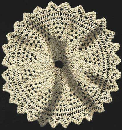 Free Knitting Patterns 2 Needle Doilies From 1917 Lots Of