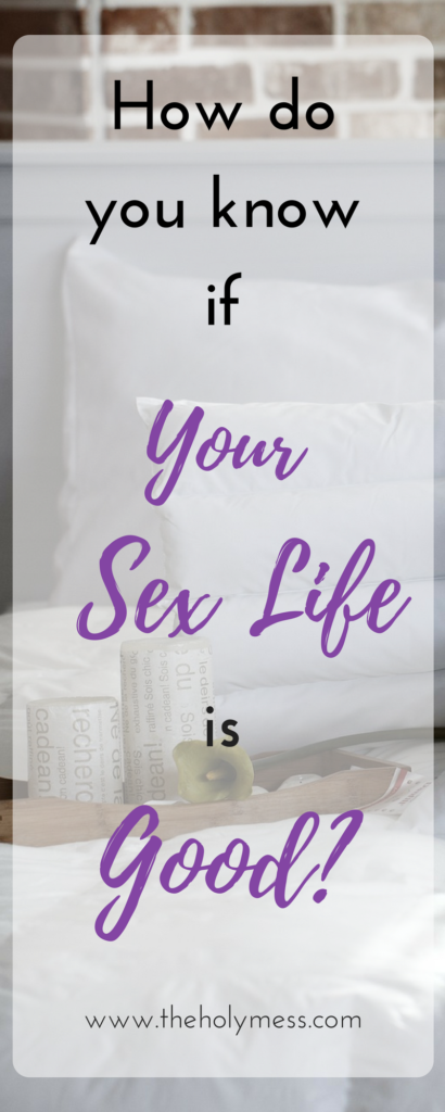 How to know if your good at sex