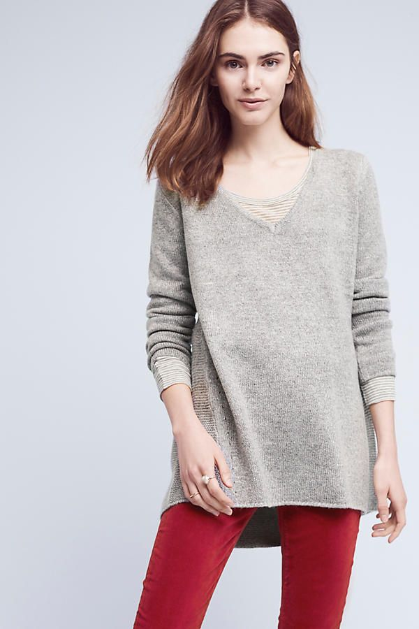 Maddy Pointelle-Back Tunic