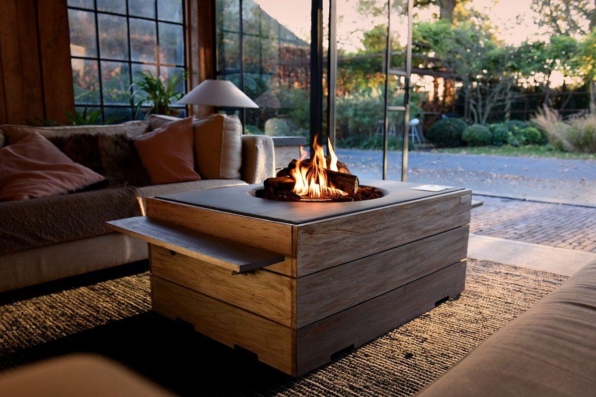 Terrassen Und Gartenfeuer Feuertisch Propan Feuerstellen Gartenfeuer