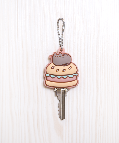 Burger Pusheen key cap