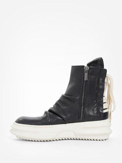 Black Back String High-Top Sneakers D.Gnak ncpTlFfLFd