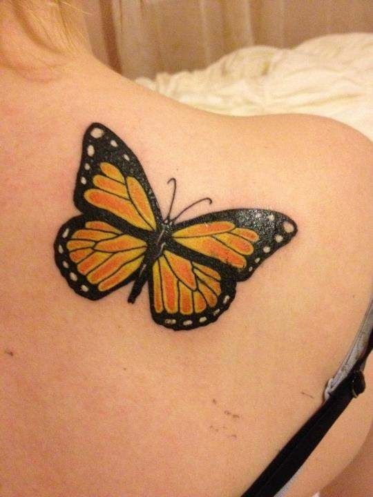 My Monarch Butterfly Tattoo Lower Back Tattoos Back Tattoo Women Butterfly Tattoo