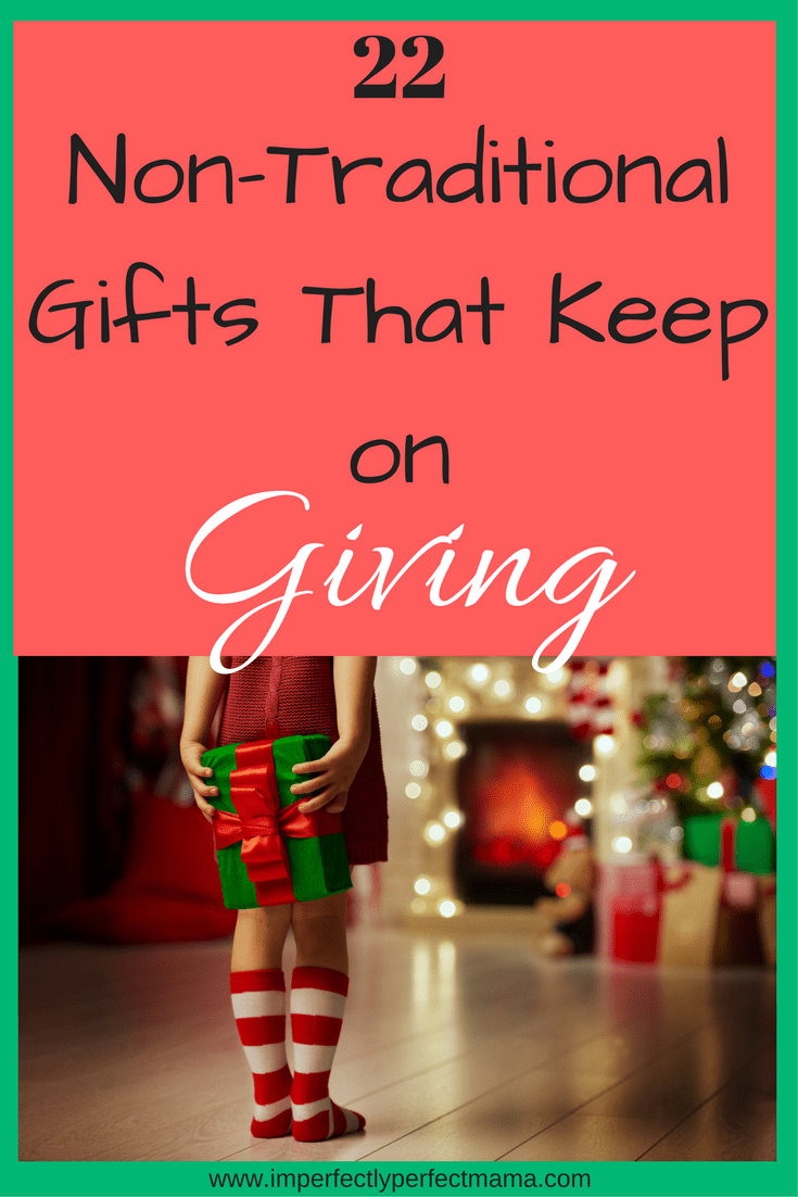 Non traditional christmas gift giving ideas