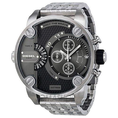 Diesel DZ7247 Orologio da Uomo cronografo Acciaio MULTI MOVIMENTO grigio,€ 159,00,perché non acquistare questo orologio per il vostro amico o tuo padre?