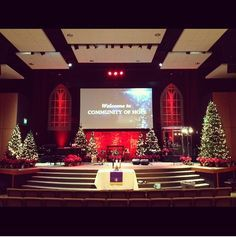 Image Result For Cool Christmas Decorations Church